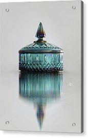 Vintage Glass Candy Jar Acrylic Print
