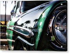 Vintage Green Acrylic Print