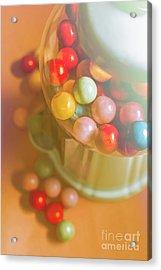 Vintage Gum Ball Candy Dispenser Acrylic Print