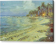 Vintage Hawaiian Art Acrylic Print