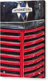 Vintage International Truck Acrylic Print
