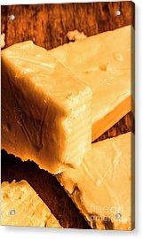Vintage Italian Cheeses Acrylic Print by Jorgo Photography - Wall Art Gallery