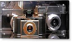 Vintage Kodak Bantam Acrylic Print by Steven Digman