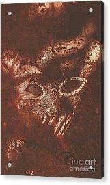Vintage Masquerade Acrylic Print