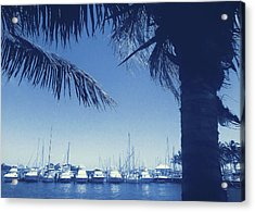 Vintage Miami Acrylic Print by JAMART Photography