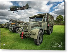 Vintage Military Transport Acrylic Print