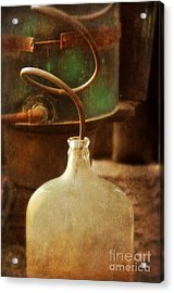 Vintage Moonshine Still Acrylic Print by Jill Battaglia