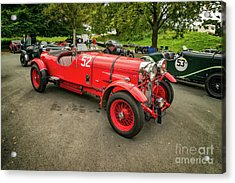 Acrylic Print featuring the photograph Vintage Motors by Adrian Evans