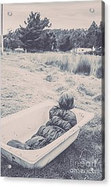 Vintage Murders Acrylic Print