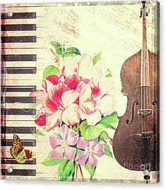 Vintage Music Acrylic Print