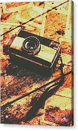 Vintage Old-fashioned Film Camera Acrylic Print