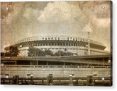 Vintage Old Yankee Stadium Acrylic Print