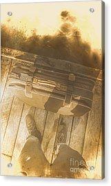 Vintage Overseas Voyage  Acrylic Print by Jorgo Photography - Wall Art Gallery