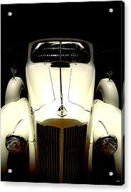 Vintage Packard Convertible  Acrylic Print by Steven Digman