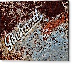 Vintage Packard Emblem Acrylic Print