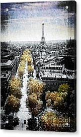 Vintage Paris Acrylic Print