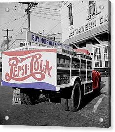 Vintage Pepsi Truck Acrylic Print