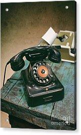 Vintage Phone Acrylic Print