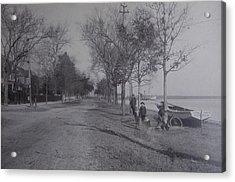 Acrylic Print featuring the photograph Vintage Photograph 1902 Front Street New Bern Nc by Unknown