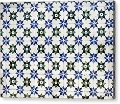 Vintage Portuguese Tiles Acrylic Print