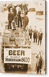Vintage Prohibition Image Acrylic Print