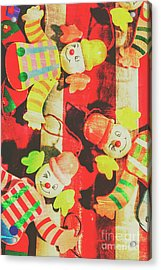 Vintage Pull String Puppets Acrylic Print