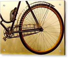 Vintage Remington Bike Acrylic Print by Lori Seaman