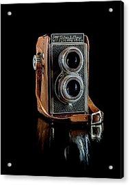 Vintage Ricohflex Camera Acrylic Print