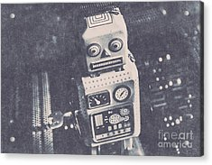 Vintage Robot Toy Acrylic Print