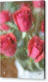 Acrylic Print featuring the photograph Vintage Rose Bouquet by Diane Alexander