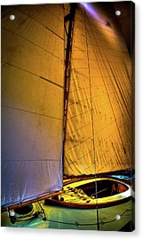 Acrylic Print featuring the photograph Vintage Sailboat by David Patterson