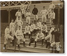 Vintage Saint Louis Baseball Team Photo Acrylic Print