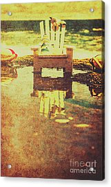 Vintage Seaside Vacationing Acrylic Print by Jorgo Photography - Wall Art Gallery