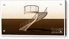 Vintage Stair 48 Escalera Caracol Helicoidal Acrylic Print