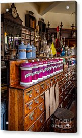 Vintage Store Acrylic Print by Adrian Evans