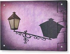 Vintage Street Lamp Gdansk Poland  Acrylic Print