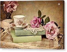 Vintage Tea Acrylic Print