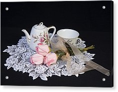 Vintage Tea Set Acrylic Print