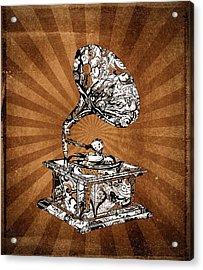 Vintage Turntable 2 Acrylic Print