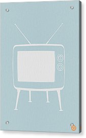 Vintage Tv Poster Acrylic Print