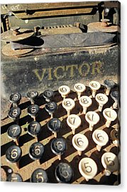 Acrylic Print featuring the photograph Vintage Victor by Scott Kingery