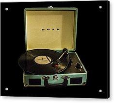 Vintage Vinyl Acrylic Print by Martin Newman