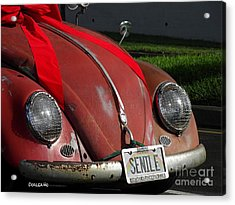 Vintage Volkswagen Acrylic Print