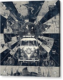 Vintage Voyager 2 Acrylic Print
