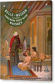 Vintage Whiskey Ad 1883 Acrylic Print