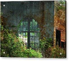 Vintage Windows Bethlehem Steel 1 Acrylic Print