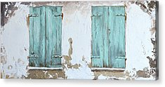Vintage Series #1 Windows Acrylic Print