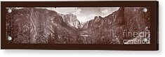 Acrylic Print featuring the photograph Vintage Yosemite Valley 1899 by John Stephens
