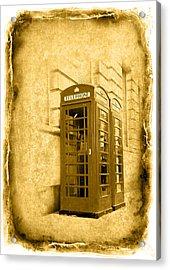 Vintage07 Acrylic Print by Svetlana Sewell