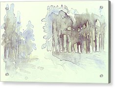 Vintrig Skogsglanta, A Wintry Glade In The Woods 2,83 Mb_0047 Up To 60 X 40 Cm Acrylic Print